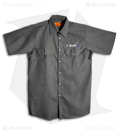 Blade HQ Grease Monkey Shop Shirt (Gray)