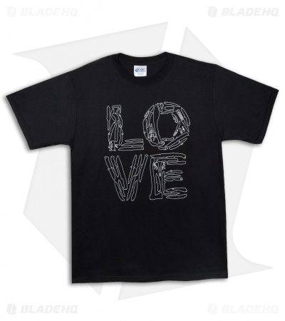 "The Late Boy Scout ""Knife Love"" T-Shirt Black"