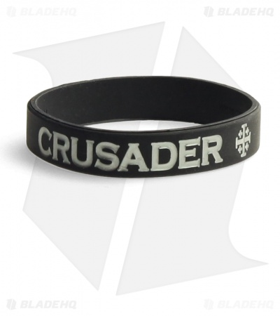 MSM Pork Eater Bracelet (Black / Silver Text)