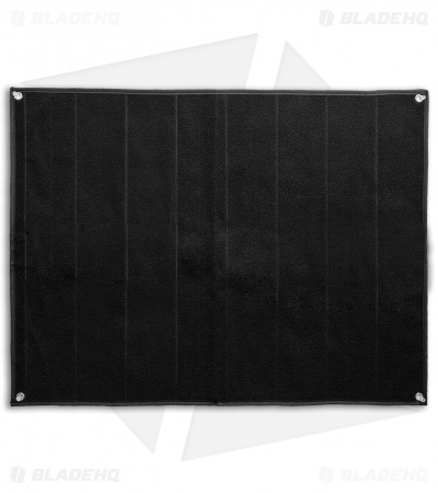 "Medium Black Nylon Velcro Patch Blanket Mat (30"" x 23.25"")"