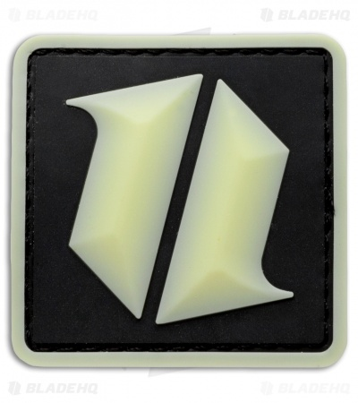 Blade HQ Shield Logo PVC Hook Velcro Back Patch (Glow)