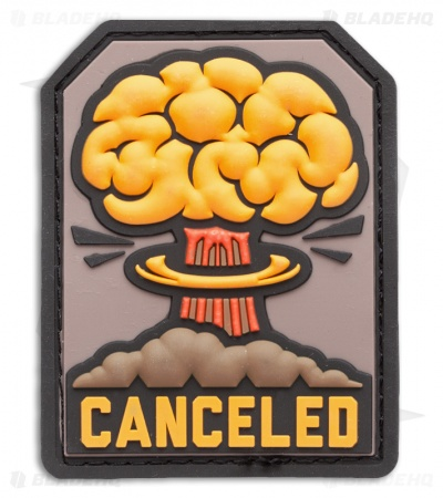 "MSM 2.3"" x 3"" Canceled Nuclear PVC Patch (Full Color)"