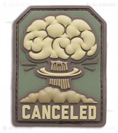 "MSM 2.3"" x 3"" Canceled Nuclear PVC Patch (Multicam)"