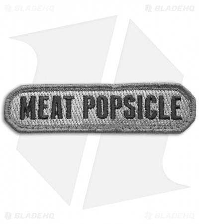 MSM Meat Popsicle Hook Back Velcro Patch (ACU-Dark)