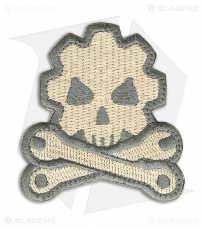 MSM Death Mechanic Patch Hook Velcro Back (ACU-Light)