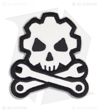 MSM Death Mechanic Patch Hook Velcro Back (SWAT)