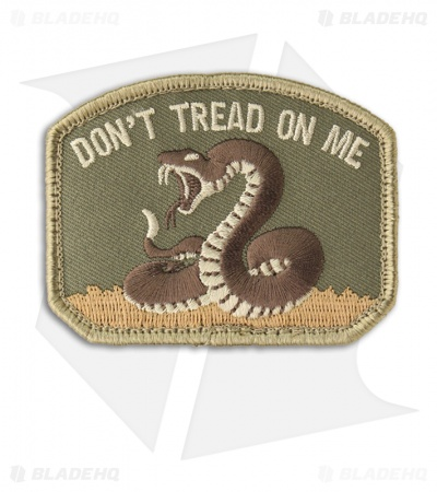 MSM Don't Tread On Me Patch Hook Velcro Back (Multi-Cam)