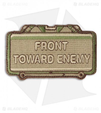 MSM Front Toward Enemy Hook Velcro Back Patch (Multi-Cam)