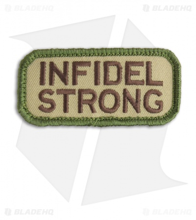 MSM Infidel Strong Patch Hook Velcro Back (Multi-Cam)