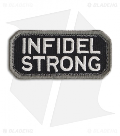 MSM Infidel Strong Patch Hook Velcro Back (SWAT)