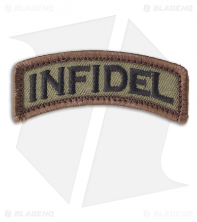 MSM Infidel Tab Patch Hook Velcro Back (Forest)