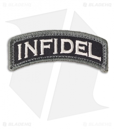 MSM Infidel Tab Patch Hook Velcro Back (SWAT)