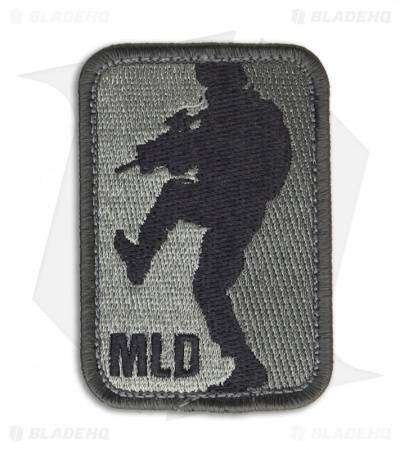 MSM Major League Doorkicker Patch Hook Velcro Back (ACU-Dark)