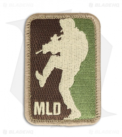 MSM Major League Doorkicker Patch Hook Velcro Back (Arid)