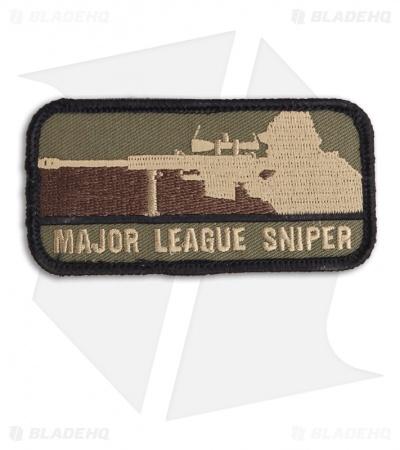 MSM Major League Sniper Patch Hook Velcro Back (Forest)