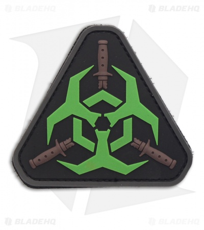 MSM Outbreak Response Team PVC Patch Hook Velcro Back (Glow)