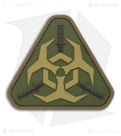 MSM Outbreak Response Team PVC Patch Hook Velcro Back (Multi-Cam)