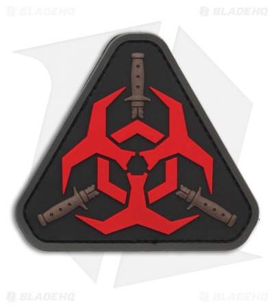 MSM Outbreak Response Team PVC Patch Hook Velcro Back (Red)
