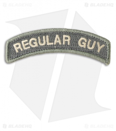 MSM Regular Guy Patch Hook Velcro Back (ACU-Light)