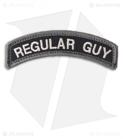 MSM Regular Guy Patch Hook Velcro Back (SWAT)