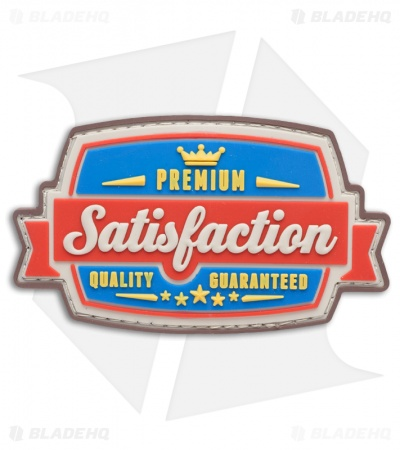 MSM Satisfaction PVC Patch (Full Color)