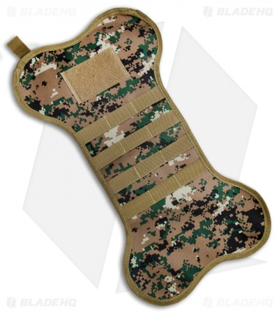 K9 Dogbone Tactical Christmas Stocking (Green Digi Camo)