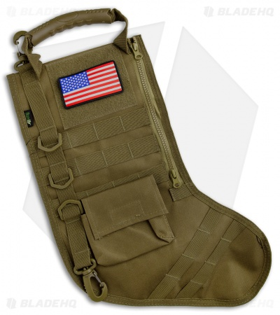 Osage River Ruck Up Tactical Christmas Stocking OD Green USA Patch