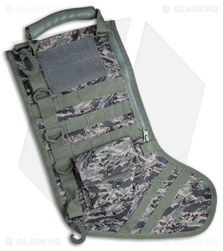 tactical christmas stocking deluxe molle elite version abu camo - Camo Christmas Stocking