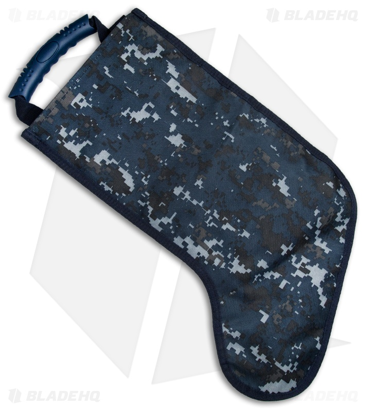 Tactical Christmas Stocking Deluxe Molle Elite Version (Blue Camo ...