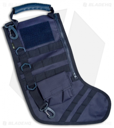 Tactical Christmas Stocking Deluxe Molle Elite Version (Navy Blue)