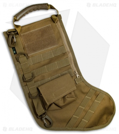 Tactical Christmas Stocking Deluxe Molle Elite Version (Coyote Tan)