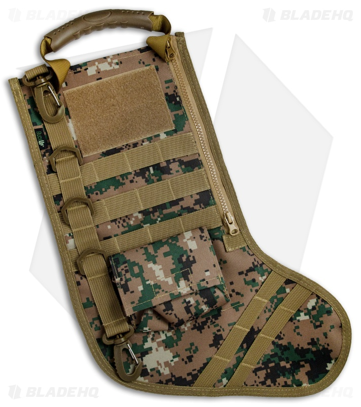 Tactical Christmas Stocking Deluxe Molle Elite Version (Green Digi ...