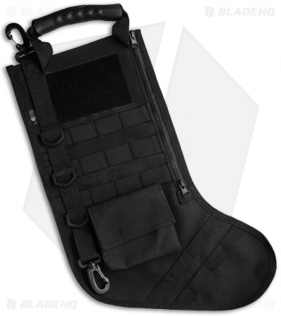 Tactical Christmas Stocking Deluxe Molle Elite Version (Black)