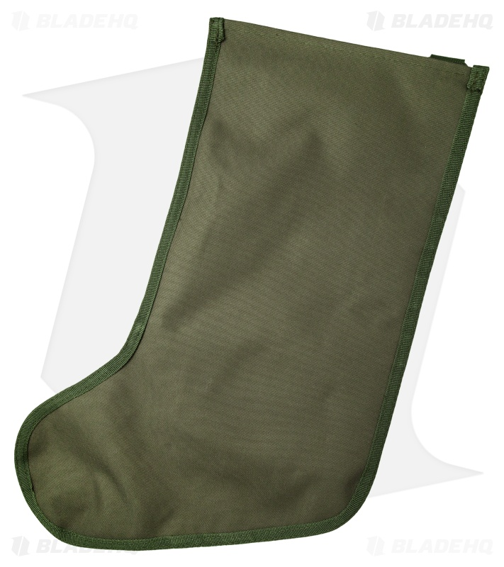Tactical Christmas Stocking.Tactical Christmas Stocking Deluxe Molle Elite Version Od Green