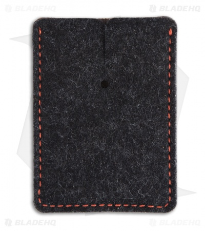 Greg Stevens Design Wooly Slim(mer) Wallet Black/Red Leather
