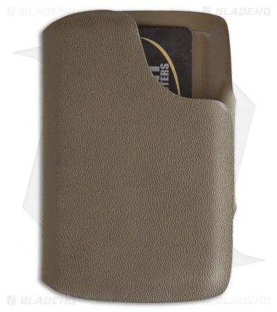 Hell-Bent Holsters Combat Wallet 2 w/ Money Clip Coyote Brown Kydex FDE CW2