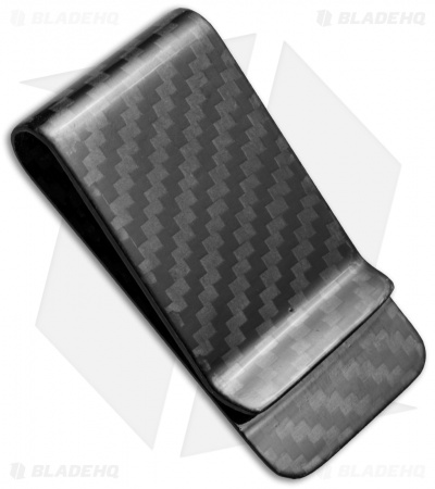 Bastion Pure Carbon Fiber Money Clip - Black