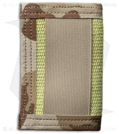 Recycled Firefighter Rookie Fire Hose Bifold Wallet (Yellow/Tan Camo)
