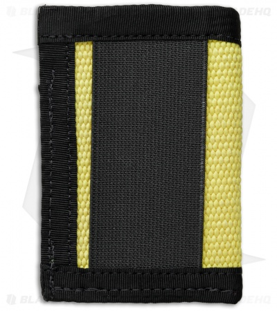 Recycled Firefighter Sergeant Fire Hose Slim Wallet (Yellow/Black)