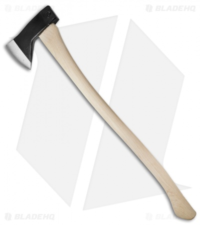 "Council Tool 28"" Hudson Bay Axe w/Curved Hickory Handle 20HBS28"