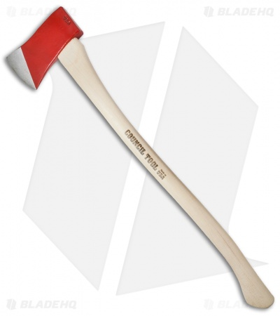 "Council Tool 28"" Boy's Axe w/Curved Hickory Handle CT-22BR"