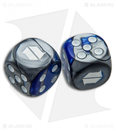 "Blade HQ Dice 5/8"" (Set of 2) Blue/Gray"