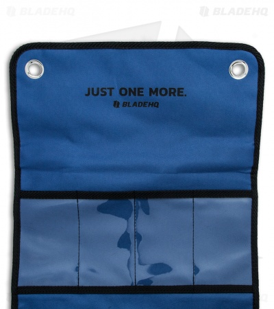 Blade HQ Knife Roll Nylon Carry Case - Blue