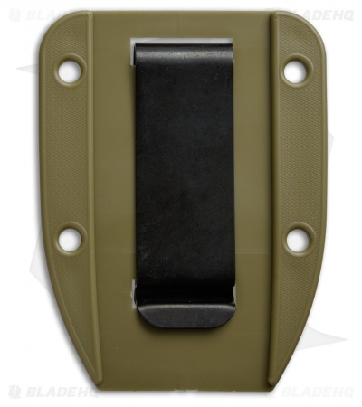 ESEE Knives 3/4 Clip Plate for ESEE-4 (OD Green)