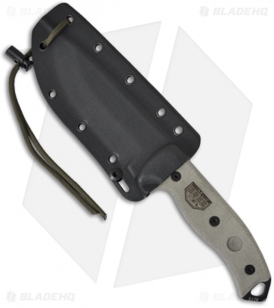 Black Kydex Sheath w/ Paracord & Cord Lock