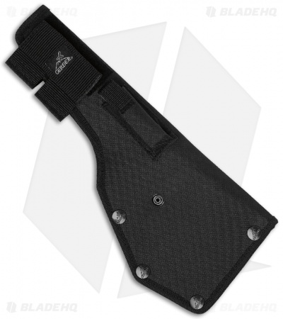 "Gerber Gator Machete Pro Fixed Blade (10.5"" Black Plain) w/ Sharpening Stone"