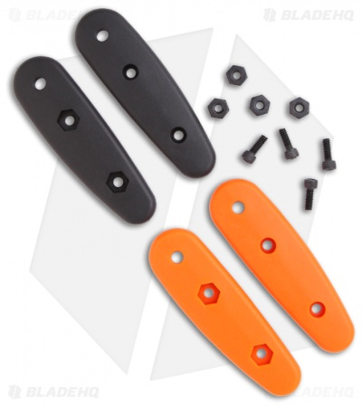 Ka-Bar Becker Eskabar Orange & Black Zytel Handle Scales Set