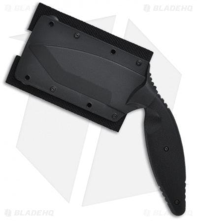 "Ka-Bar Large TDI Law Enforcement Tanto Fixed Blade Knife (3.625"" BlackSerr) 1485"