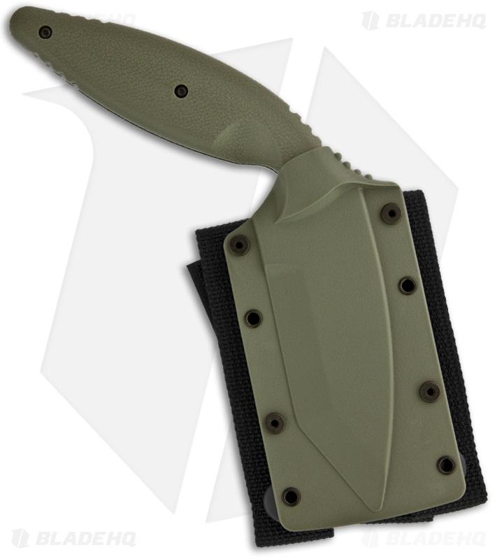 Ka Bar Large Tdi Law Enforcement Tanto Fixed Blade Knife 3 7 Serr