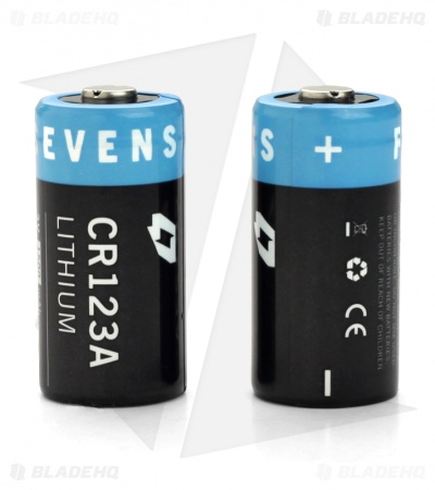 FourSevens CR123A Lithium 3V Battery (2 Batteries)